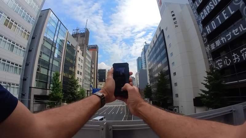 Photojournalist Allen Reid continues to tour parts of Tokyo