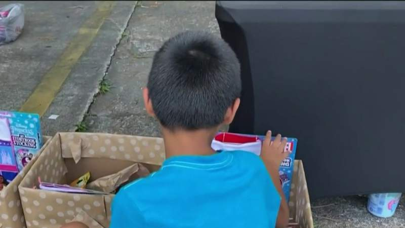 Back-to-school bash held for local foster kids