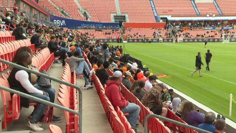 BBVA Stadium announces a limited number of fans will soon be able to attend Houston Dynamo, Dash home games.
