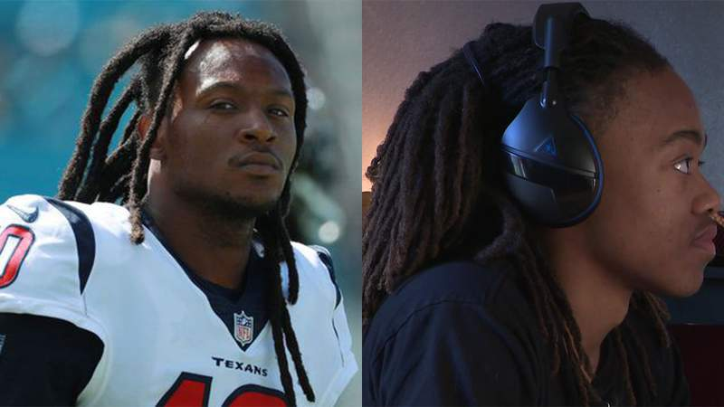 DeAndre Hopkins supports Barbers Hill High School student in dreadlocks controversy.