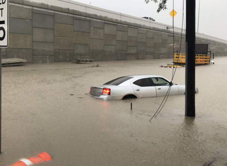 Spencer Highway and Beltway 8 last May 15