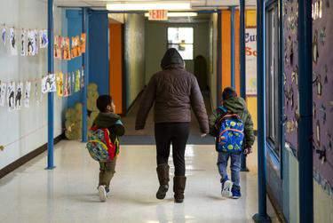 Cactus Elementary School in Cactus on Jan. 28, 2020.      Miguel Gutierrez Jr./The Texas Tribune
