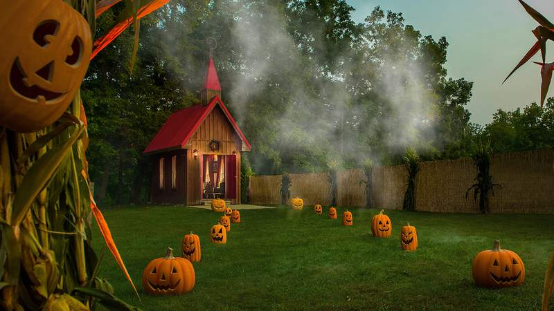 """FILE PHOTO - The """"Mayor"""" of Hell invites guests to the spookiest Airbnb on Earth."""
