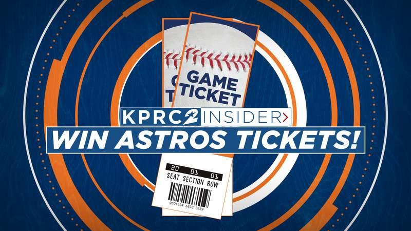 Astros Ticket Giveaway