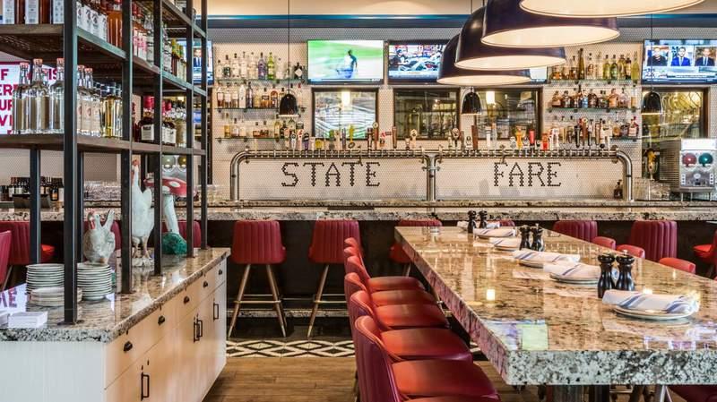 State Fare Kitchen & Bar interior