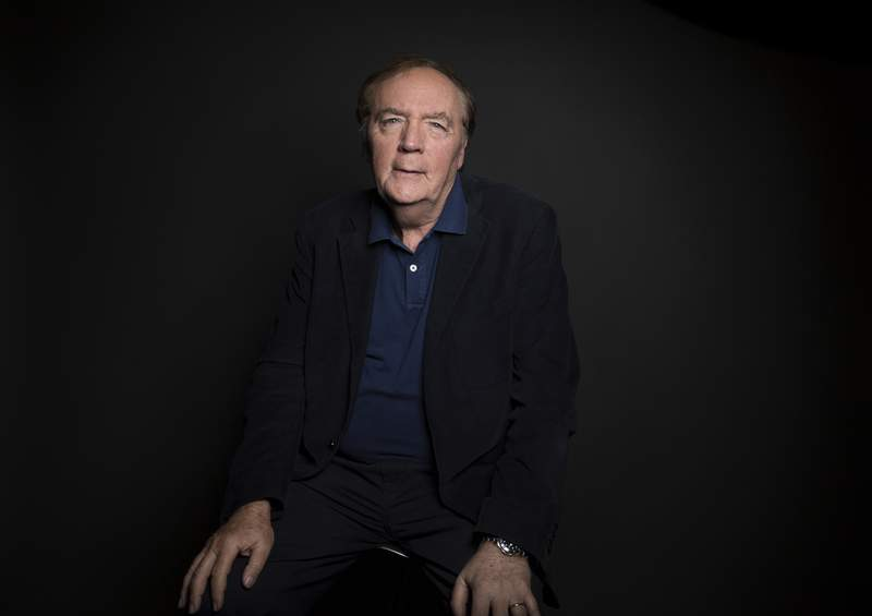 FILE - Author James Patterson poses for a portrait in New York on Aug. 30, 2016. Thousands of schoolteachers will receive $500 grants from Patterson. The grants are to help students build reading skills, especially as schools struggle to adapt to the coronavirus pandemic. The grant program is administered by Patterson and by Scholastic Book Clubs. (Photo by Taylor Jewell/Invision/AP, File)