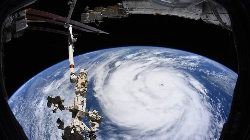 IDA space shot courtesy NOAA