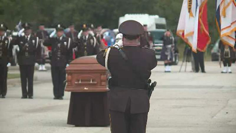 These are some of the most powerful images from Officer William 'Bill' Jeffrey's funeral services