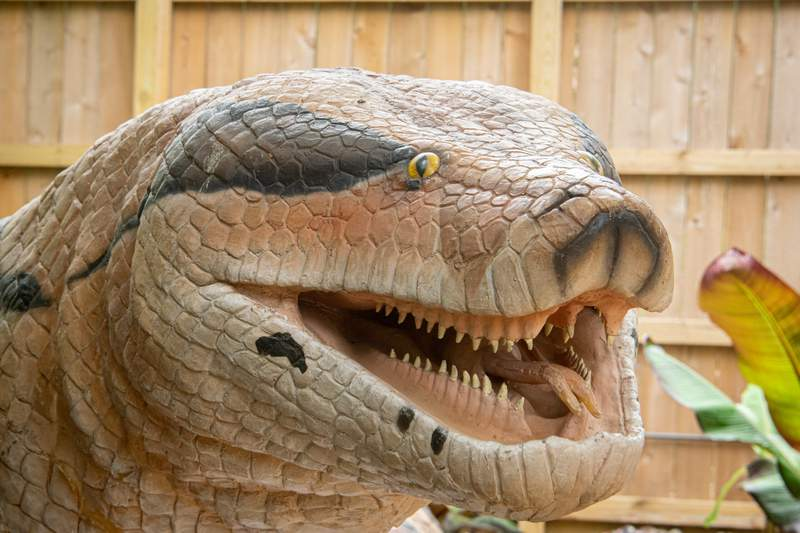Prehistoric Beasts going on now until Sept. 6.
