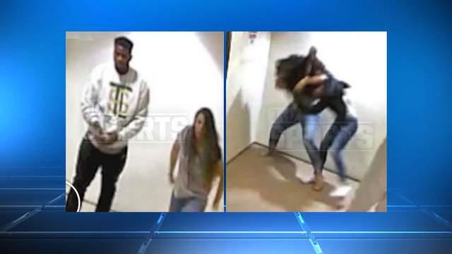 TMZ video of Dante Fowler with women fighting
