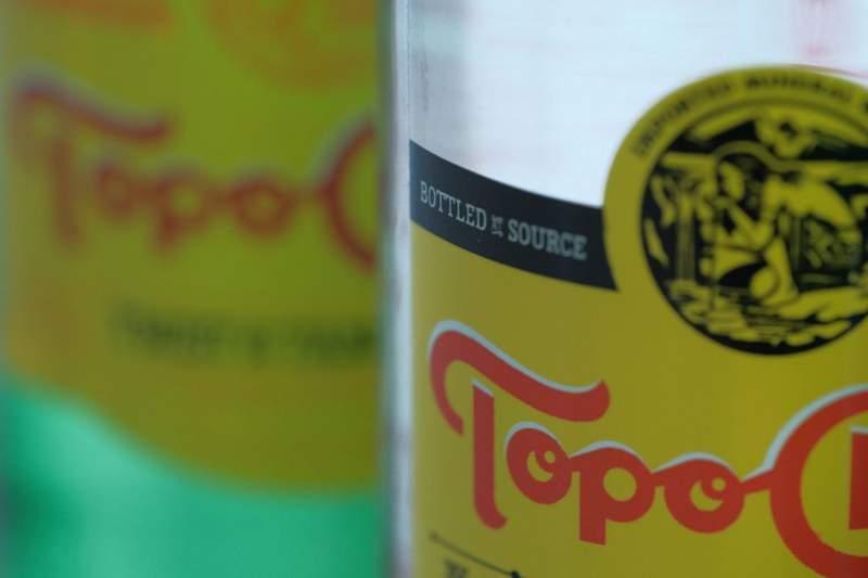 Close-up image of Topo Chico