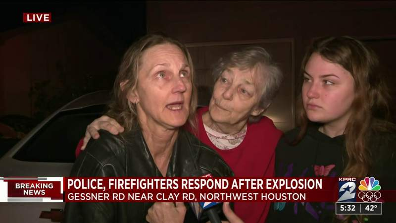Family describes aftermath of northwest Houston explosion