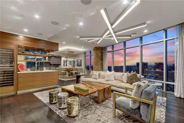 See Inside This Luxurious High Rise Condo In Texas Tallest Residential Building On Sale For 3 3 Million