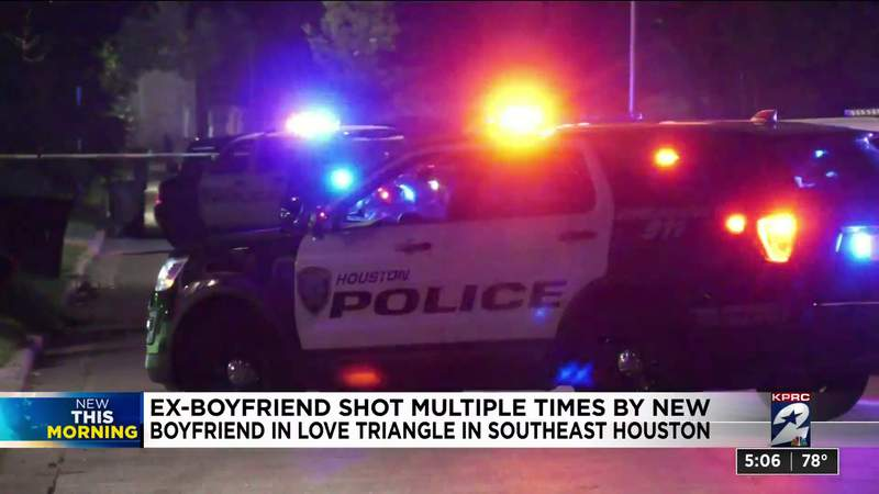 Ex-boyfriend shot multiple times by new boyfriend in love triangle in SE Houston: Police