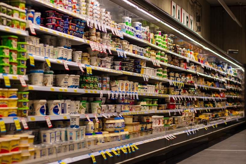 Generic grocery store image