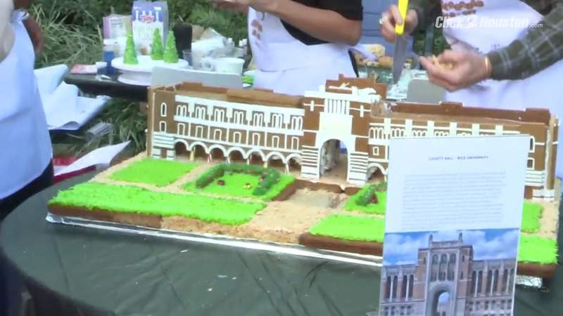GF Default - Gingerbread Build-Off competition draws thousands to watch epic holiday creation