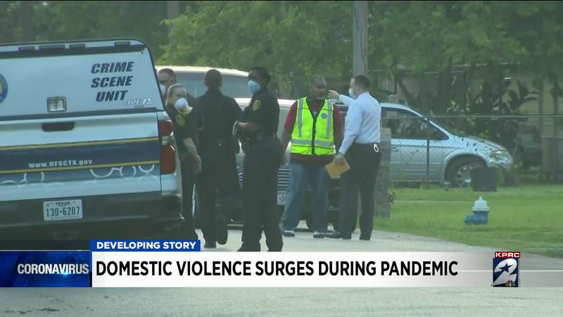 Domestic violence surges during pandemic