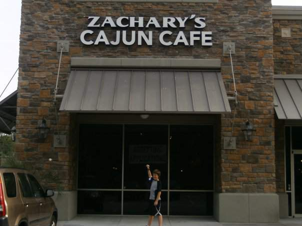 Zachary's Cajun Cafe opened in 2009
