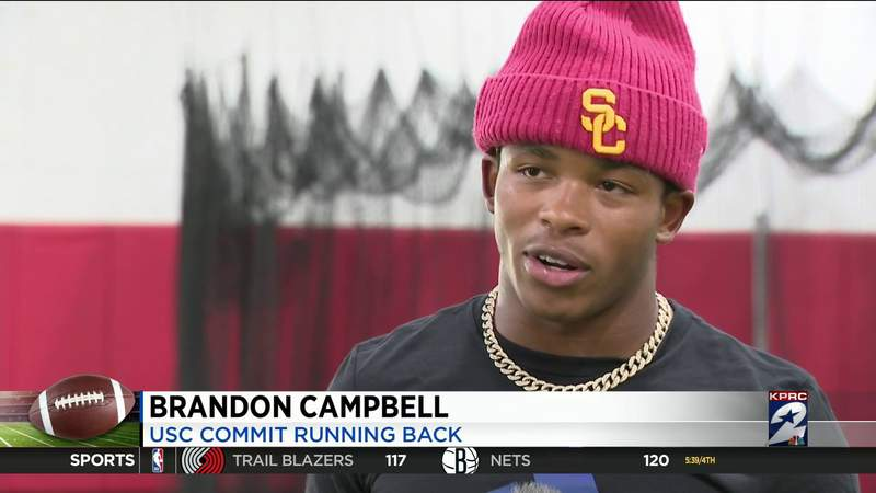 Katy RB Brandon Campbell to forego senior season, enroll early at USC