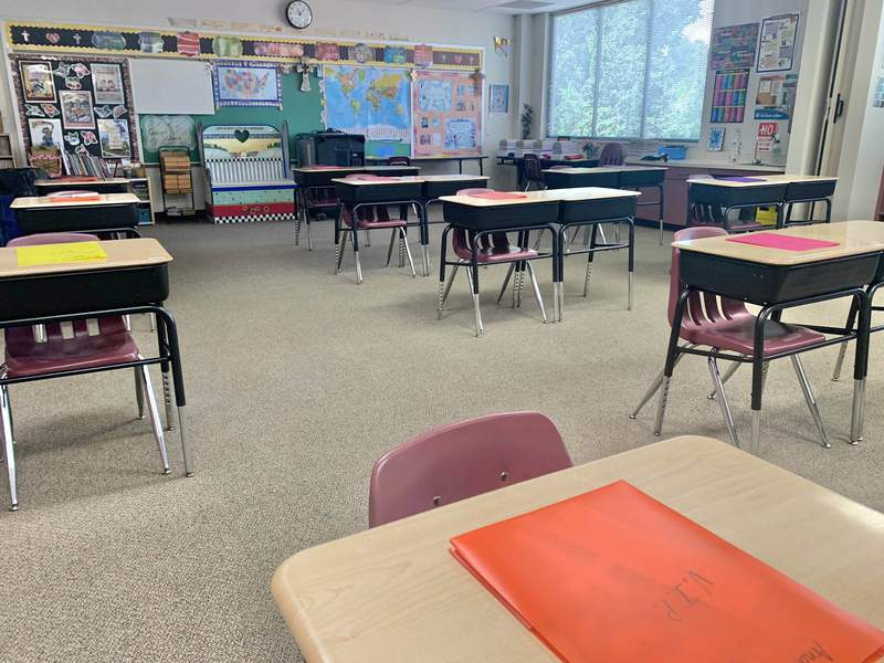 It's FIRST DAY OF SCHOOL for students at St. Martha Catholic School in Kingwood. 80-percent of 320 kids are returning to the classroom. There are a lot of changes.