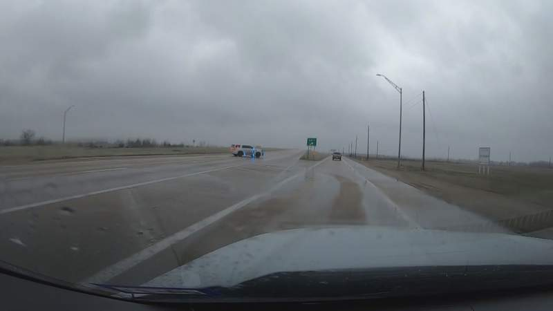 Rough Conditions on 290 from Waller to Cypress