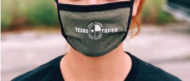 Texas Tough face masks made by Texas Humor.
