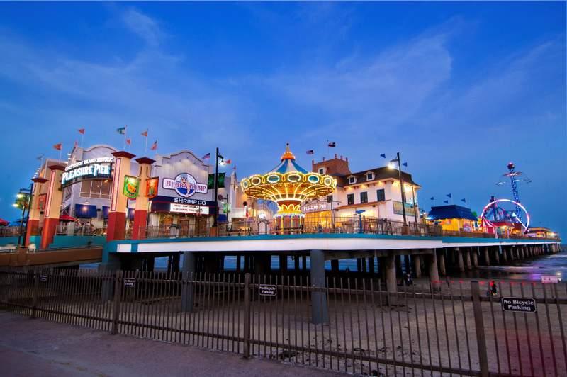 Pleasure Pier - Owned by Landry's Inc.