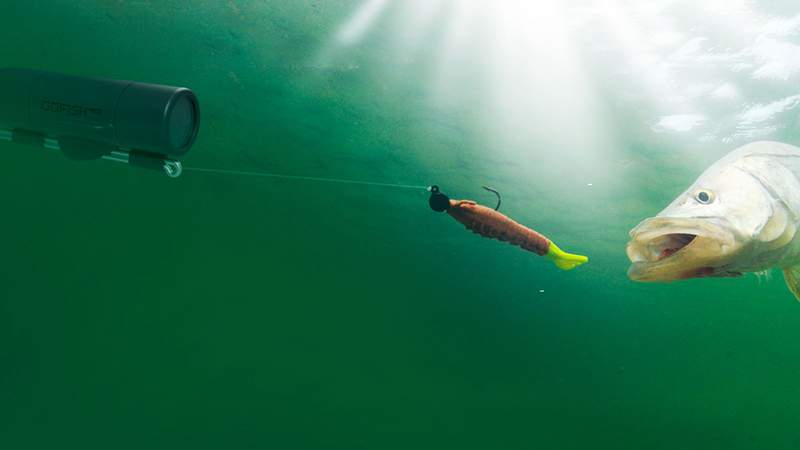 This underwater camera streams straight to your phone as you fish.