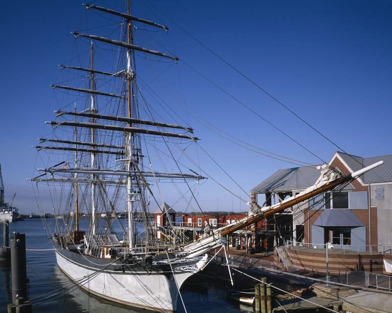 UNITED STATES - JANUARY 01:  Tall ship Elissa, Galveston, Texas (Photo by Carol M. Highsmith/Buyenlarge/Getty Images)