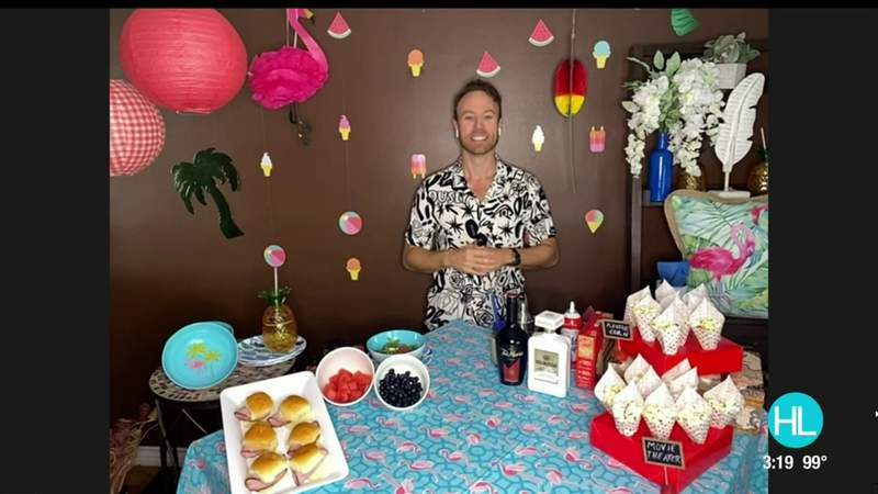 How to throw a movie night soiree at home on a budget   HOUSTON LIFE   KPRC 2