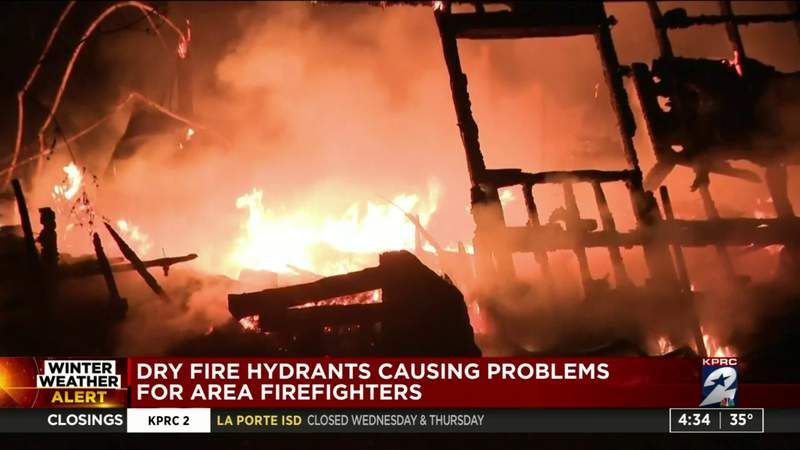 Dry fire hydrants causing problems for area firefighters