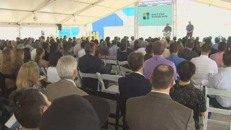 New innovative manufacturing hub opens on Houston's East End