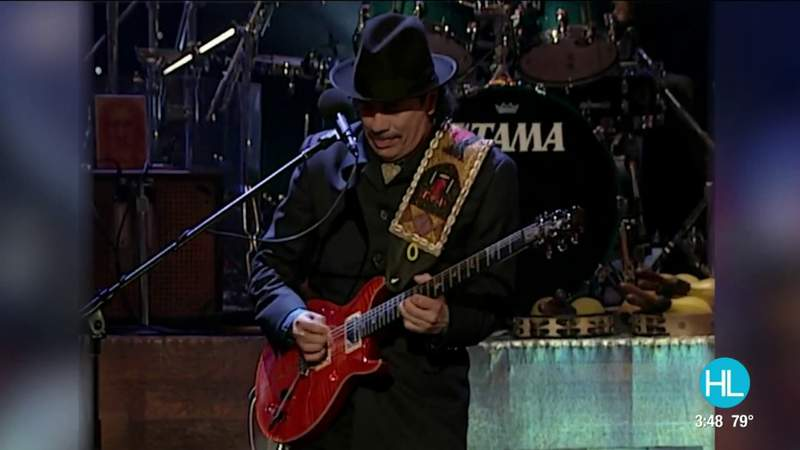 Catching up with Rock And Roll Hall of Fame legendary guitarist Carlos Santana | HOUSTON LIFE | KPRC 2