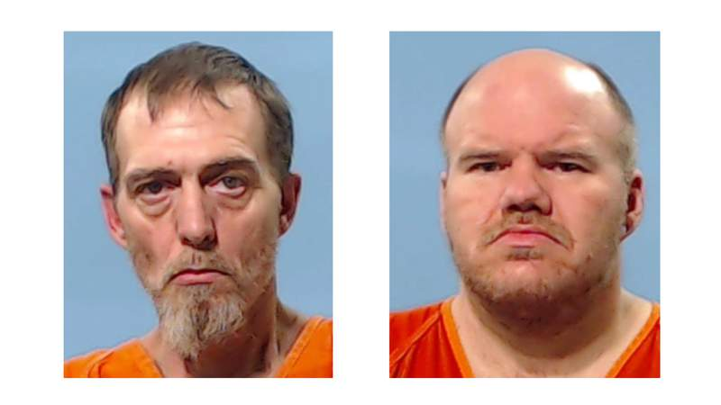Christopher Paul Lydic, 37, and James Doyle Britton, 44. were arrested and charged with murder Thursday in connection to a 2020 homicide in Lake Jackson.