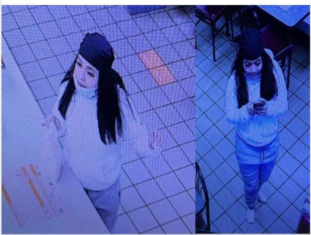 Houston police are looking to identify a woman who was involved in an aggravated robbery back in February.