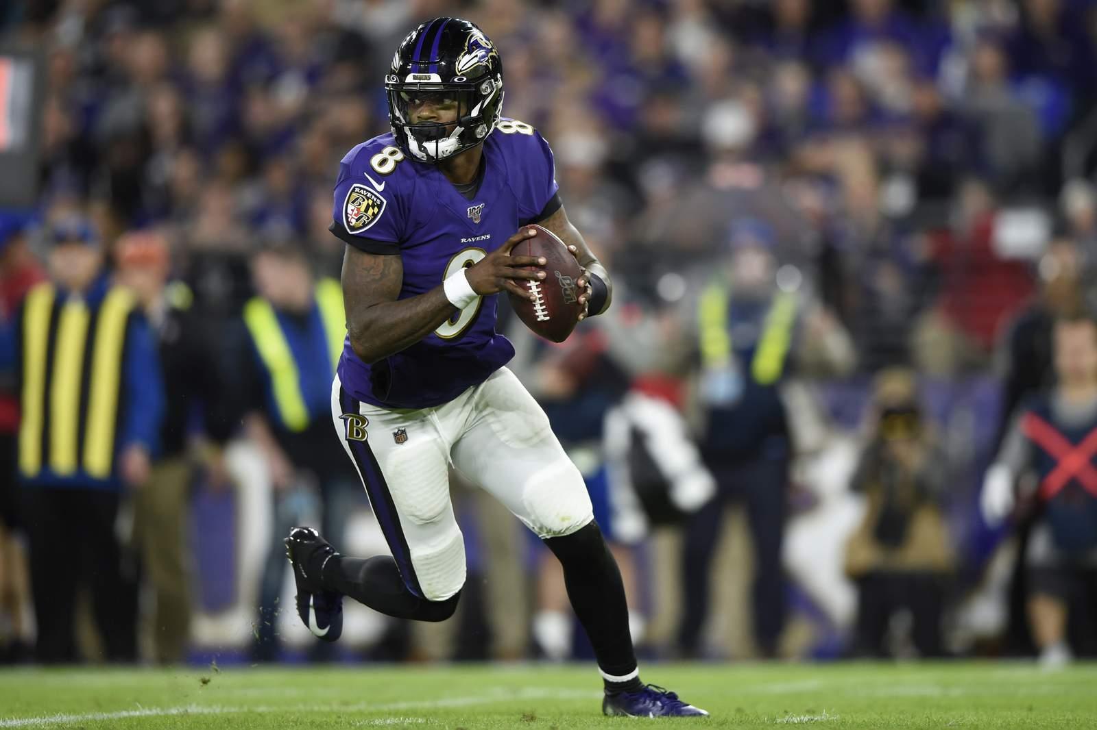 Texans prepare to host Lamar Jackson, Ravens