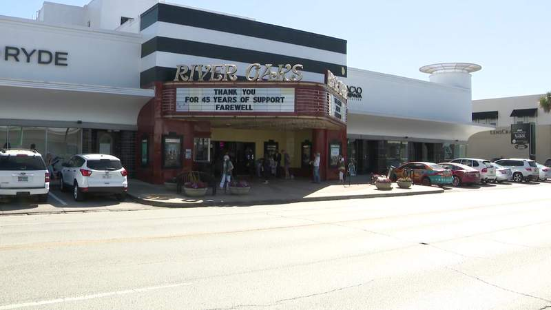 Curtain closes for River Oaks theatre