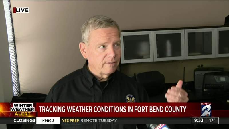 Tracking weather conditions in Fort Bend County