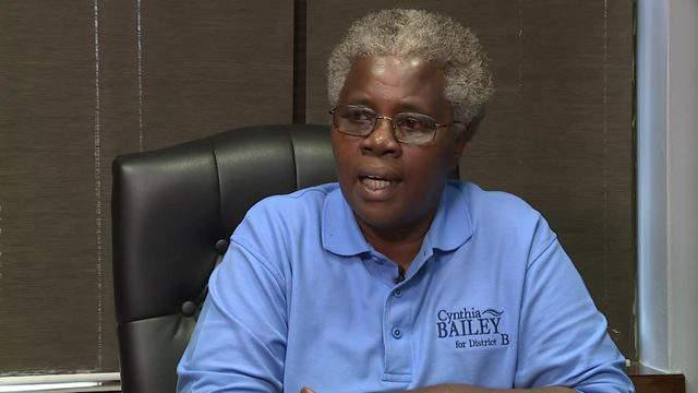Cynthia Bailey talks to KPRC 2 on Aug. 28, 2019.