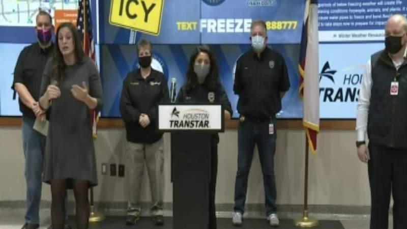 Harris Co. Judge Lina Hidalgo shares update on winter storm