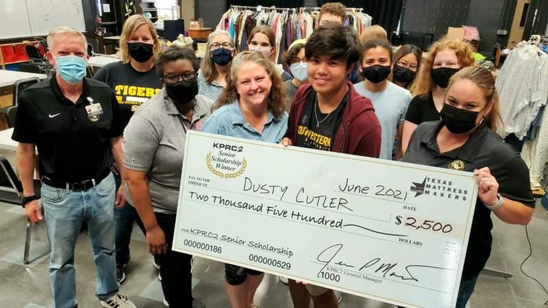 Congratulations, Dusty Cutler!