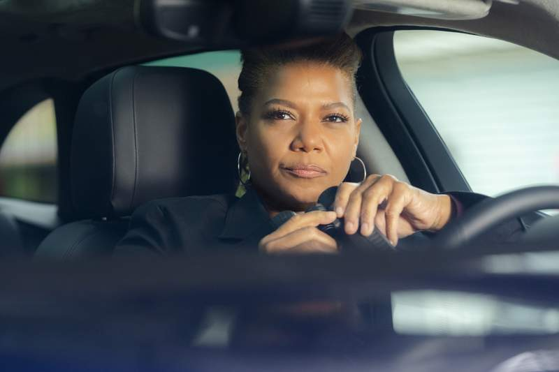 """This image released by CBS shows Queen Latifah in a scene from the series """"The Equalizer,"""" premiering after the Super Bowl on Sunday, Feb. 7. (Barbara Nitke/CBS via AP)"""