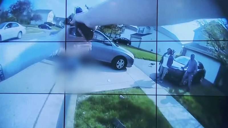 Ohio police officer fatally shoots teenage girl