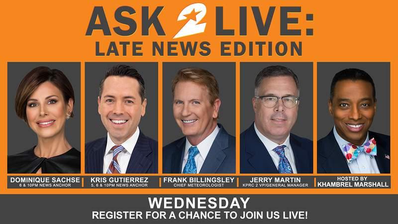 Ask 2 Live: Late News Edition