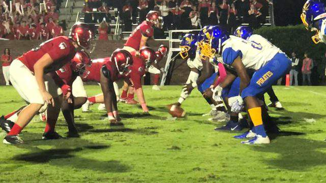 Glynn Academy held off Brunswick 24-21 on Friday night in the Football Friday Game of the Week.