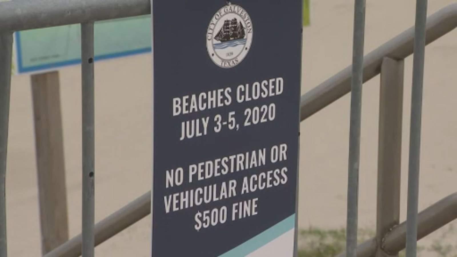 'Just doesn't make sense to me': Galveston locals, tourists react to beach closures