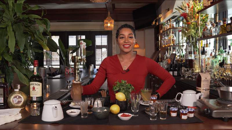 Lead Mixologist at Le Colonial, Alexa Braswell