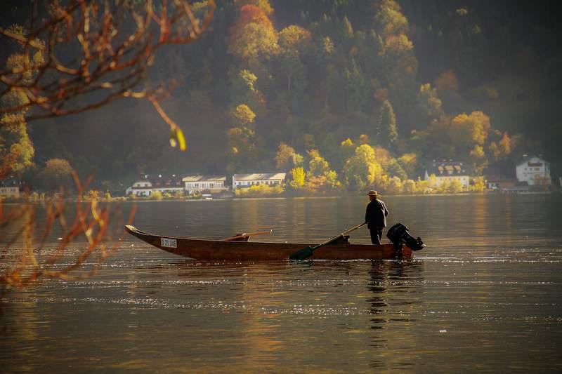 Generic image of a fisherman