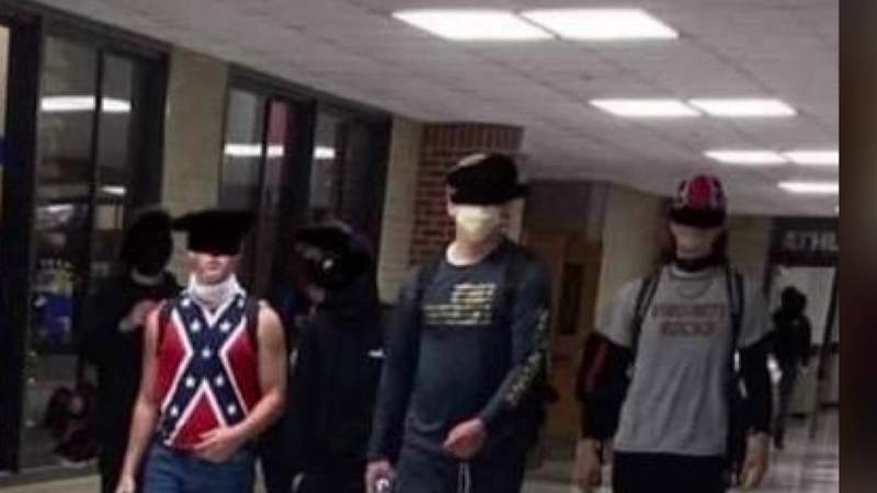 Controversy stirs at Pearland High School after students pictured wearing Confederate flag