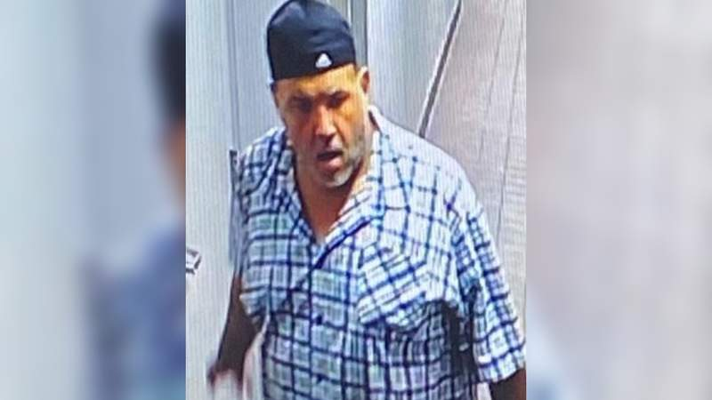 Police are searching for this man, who is accused of stealing an employee's car from a local business parking lot.
